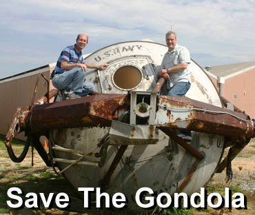 Save the Johnsville Centrifuge Original Gondola