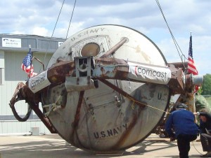 The Mercury 7 Gondola, home at last.